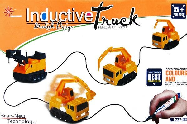 自動感應車 工程車 系列玩具