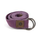 easyoga 瑜珈繩 Carry go伸展帶 180cm - 紫色
