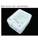 【麗室衛浴】新款上市C-761-2  附雙噴按摩功能 水底燈 臭氧消毒 壓克力養身泡腳盆 洗腳盆