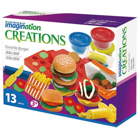UNIVERSE OF IMAGINATION 漢堡小廚師黏土組