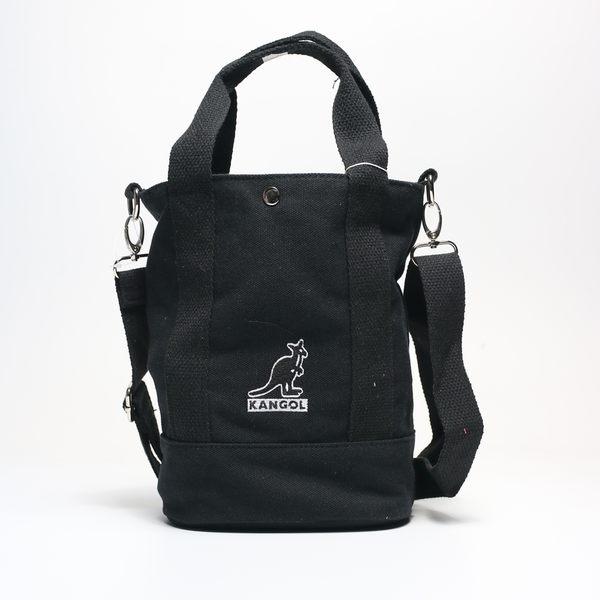 KANGOL 黑色 手提袋 帆布 英國 (布魯克林) 6925300820