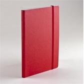 EcoQua taccuino 空白筆記本/A6(80張10.5cmx14.8cm)紅色【FABRIANO】