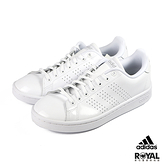Adidas Advantage 白色 亮皮 運動休閒鞋 女款 NO.J0032【新竹皇家 EE7494】