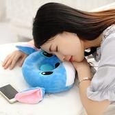 創意可愛公仔可以聽音樂的枕頭聽歌耳機睡覺抱枕送男孩女生日聖誕禮物