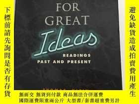 二手書博民逛書店Searching罕見for Great IdeasY23470