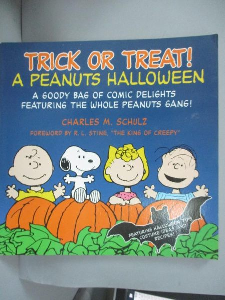 【書寶二手書T1/原文小說_YCR】Trick or Treat!: A Peanuts Halloween_Schulz, Charles M.
