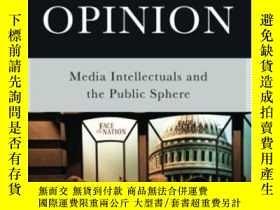 二手書博民逛書店The罕見Space Of Opinion: Media Intellectuals And The Public