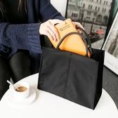 文件袋大容量防水簡約韓版潮13.3寸商務公文手提包男女帆布辦公包