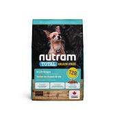 寵物家族-[輸入NT99享9折][效期20210812]紐頓Nutram-T28無穀迷你犬鮭魚2KG
