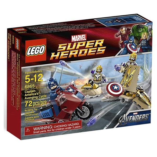 LEGO 樂高 超級英雄系列 Captain America's Avenging Cycle 6865