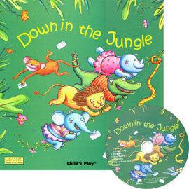 『鬆聽出英語力--第15週』- DOWN IN THE JUNGLE /書+CD《主題:歌謠故事》(JY版本)