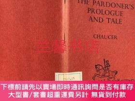 二手書博民逛書店canterbury罕見tales:the pardoner s prologue and taleY1824