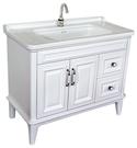 【台灣吉田】OPM-13100 美式面盆浴櫃組