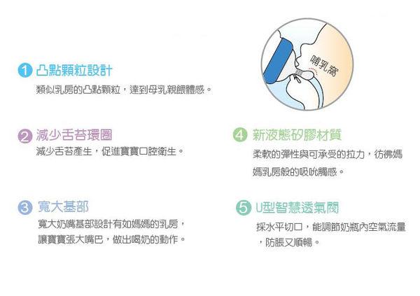 【奇買親子購物網】酷咕鴨KU.KU. 液態矽膠寬口十字奶嘴/2入(麥片專用)