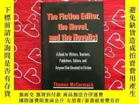 二手書博民逛書店The罕見Fiction Editor the Novel an