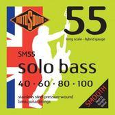 小叮噹的店 英國ROTOSOUND SM55 (40-100) 電貝斯弦 不銹鋼 旋弦公司貨