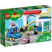 樂高積木 LEGO《 LT10902 》Duplo 得寶系列 - 警察局╭★ JOYBUS玩具百貨