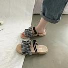 涼鞋女夏季仙女風2020新款時尚學生百搭網紅涼拖ins潮沙灘平底鞋