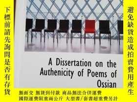 二手書博民逛書店A罕見Dissertation on the Authenici
