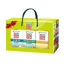 (父親節精選禮盒)營養密碼 鈣+鎂+D3 90顆 葉黃素DHA藻油 75錠 柑橘C 60顆 (加贈薄荷精油6ml) *維康