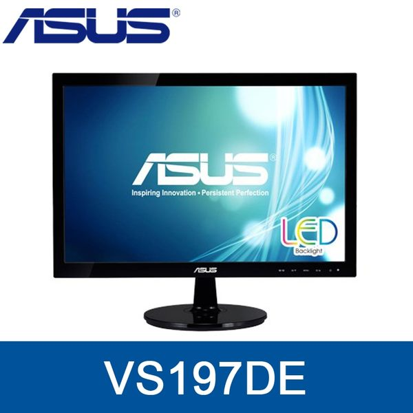 【免運費】ASUS 華碩 VS197DE 19型 螢幕 1366x768 D-SUB 三年保固