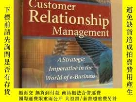 二手書博民逛書店英文原版罕見Customer Relationship Mana