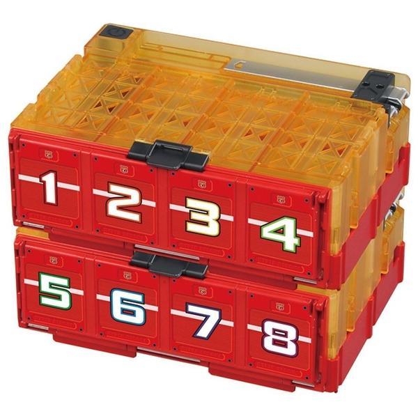 特價 TOMICA 緊急救援隊 多美彈射收納箱 _TW80972