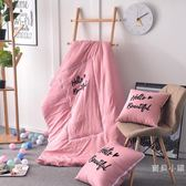 夏季車載空調被抱枕被子兩用摺疊汽車靠墊枕頭午休靠枕水洗棉沙發