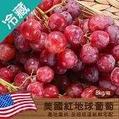 美國紅地球葡萄(8KG±10%/箱)【愛買冷藏】