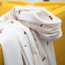 圍巾女冬款網紅百搭韓版時尚學生圍脖可愛少女秋日系披肩兩用 快速出貨