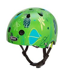美國 Nutcase 彩繪安全帽-寶寶系列-綠色草原(頭圍47-50公分)