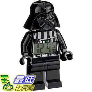 [美國直購] LEGO Kids 9002113 人偶鬧鐘 Star Wars Darth Vader Mini-Figure Alarm Clock 黑武士 星際大戰