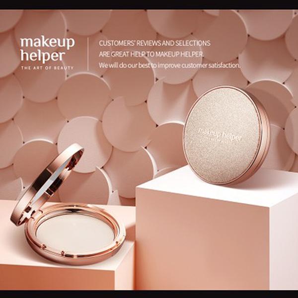 韓國 Makeup Helper 藝術控油粉餅 蜜粉餅 23g (圖殼00-24號)