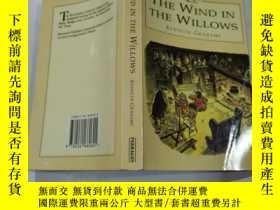 二手書博民逛書店the罕見wind in the willows : 柳樹 上的風Y212829