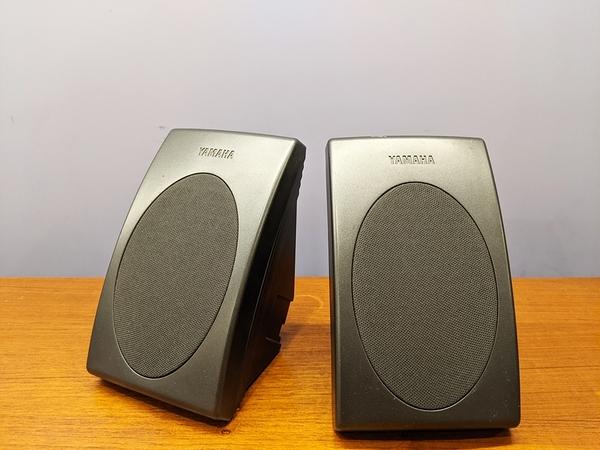 (展示福利品) YAMAHA NX-E70 書架式喇叭 / 環繞喇叭 (一對)
