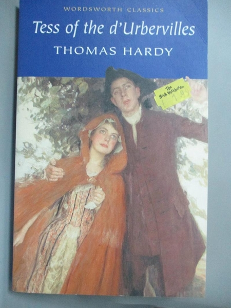 【書寶二手書T1/原文小說_LLQ】Tess of the d'Urbervilles (Wordsworth Classics)_Thomas Hardy