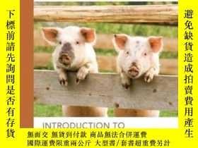 二手書博民逛書店Introduction罕見To Animal Science
