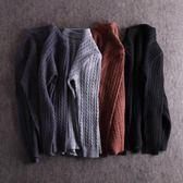 80%羊絨公司剪標撤櫃尾單 秋冬裝新款男士厚款圓領套頭羊毛衫毛衣 台北日光