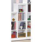 【森可家居】簡約白色耐磨四格櫃 8SB242-5 開放矮書櫃 收納 北歐風 MIT台灣製造
