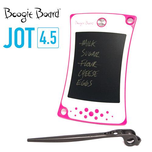 Boogie Board JOT4.5手寫板 塗鴉板 繪圖板 留言板 繪畫板-甜心粉