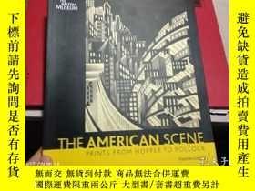 二手書博民逛書店THE罕見AMERICAN SCENE,【英文原版書;美國場景】