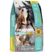 【寵物王國】nutram紐頓-I18體重控制犬(雞肉碗豆)2.72kg
