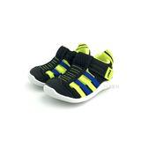 日本 IFME  透氣 魔鬼氈 排水孔 寶寶機能學步鞋 水涼鞋《7+1童鞋》C405 黑色