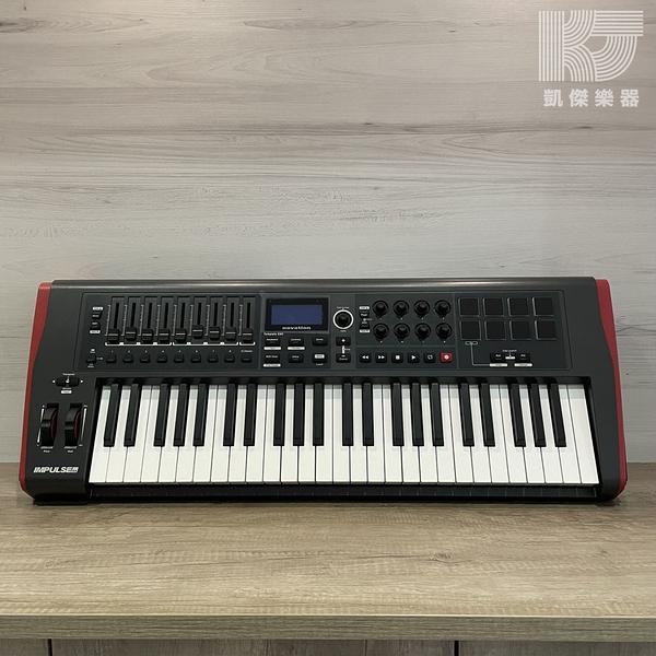 【凱傑樂器】Novation Impulse USB/MIDI 控制鍵盤 49鍵 大促銷賣場