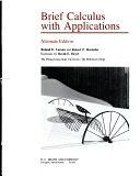 二手書博民逛書店 《Brief Calculus with Applications》 R2Y ISBN:0669067660