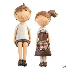 家居裝飾品 樹脂 擺設歐式實用工藝情人節結婚生日禮物品-7222012
