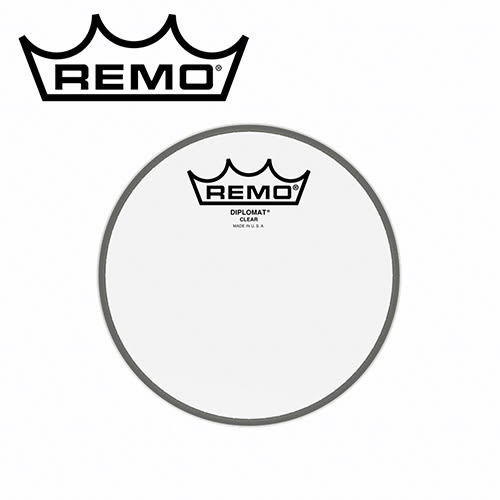 【敦煌樂器】REMO BD-0306-00 6吋透明鼓皮