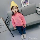 女童冬裝1-3-4-8歲寶寶加厚兒童加絨衛衣秋冬洋氣韓版潮6  樂芙美鞋