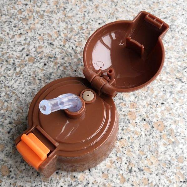 兒童寶寶保溫杯通用配件水壺帶吸管杯蓋水杯水瓶蓋硅膠吸嘴蓋子 全館免運