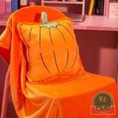 抱枕被子兩用多功能汽車內靠墊三合一折疊毯子【福喜行】
